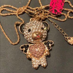 ❌Final Price Drop❌  Betsey Johnson Bear Necklace